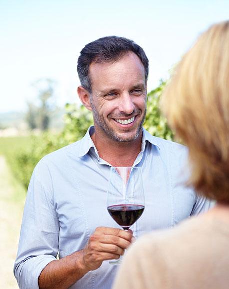 czy wino może wpływać na erekcję